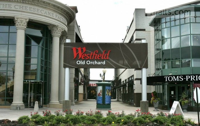 Women's Health of Chicago is at Old Orchard Westfield Mall