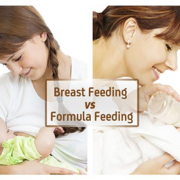 Breast Feeding vs. Formula Feeding for Baby and Mom