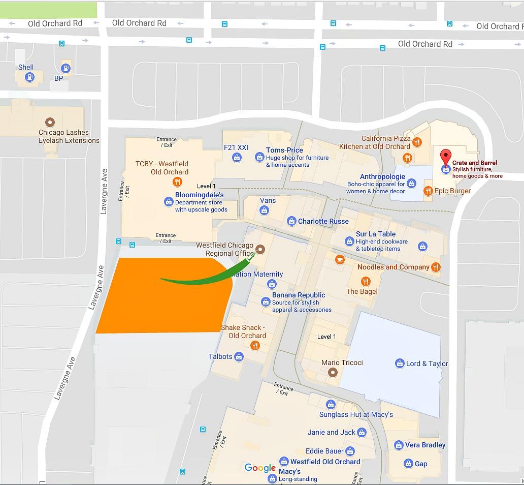 Location of Dr. Judith Cothran