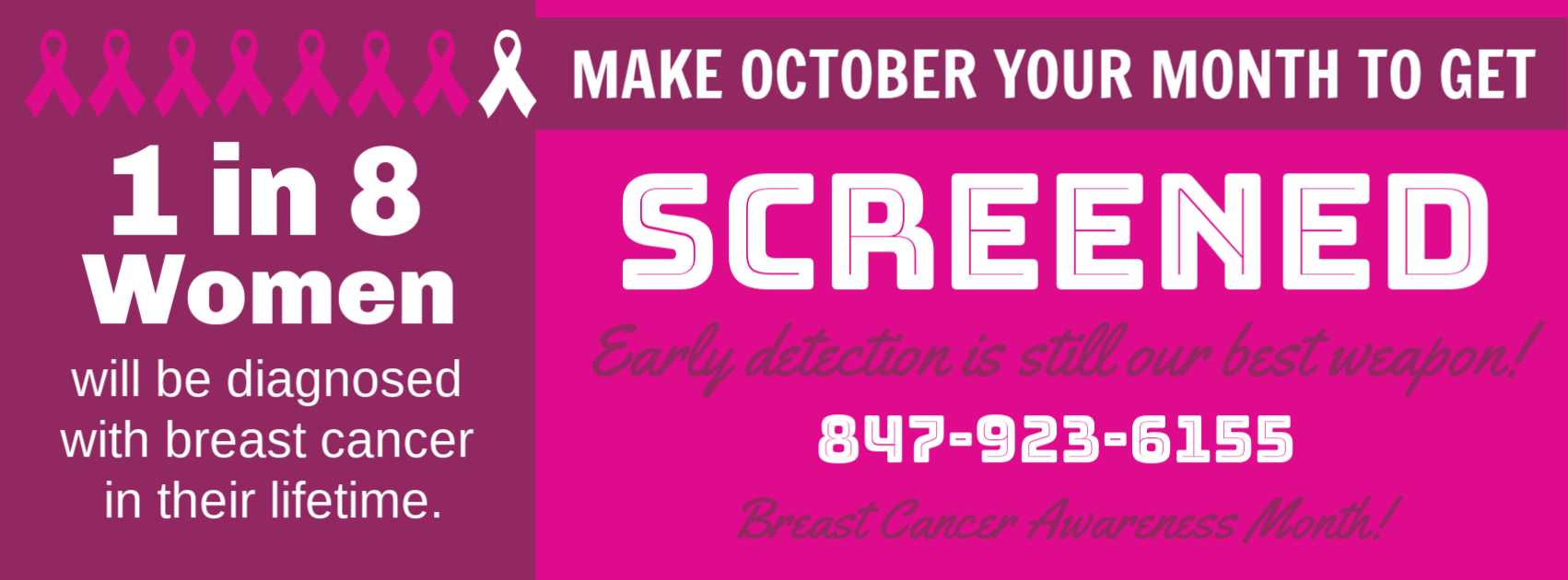 Dr. Judith Cothran supports Breast cancer awareness month