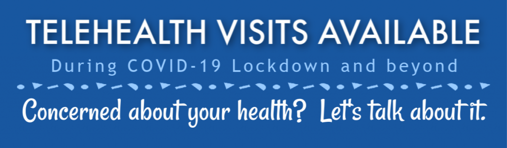Telehealth visits available at WHOC